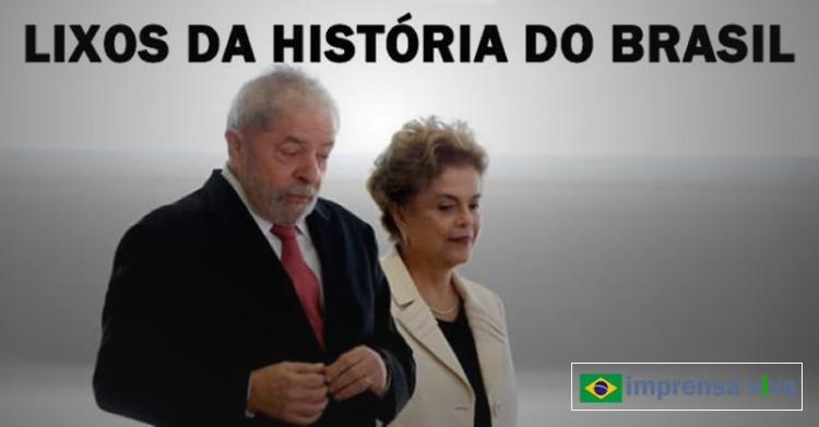 Lula e Dilma serão lembrados como os maiores criminosos da história do Brasil, dizem historiadores.jpg